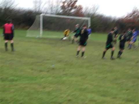 Poor Mahoney Freekick.....Handball!