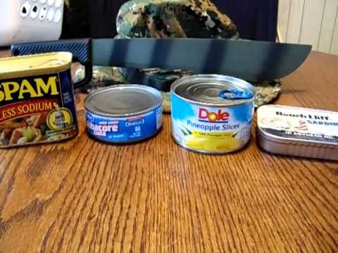 Buying survival and canned food on a budget SHTF (no zombies)