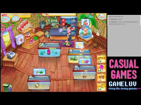 Casual gaming jenny 39 s fish shop time management game for Wsbtv fish and game