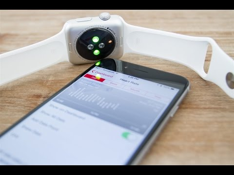 The Apple Watch Optical HR Sensor In Action