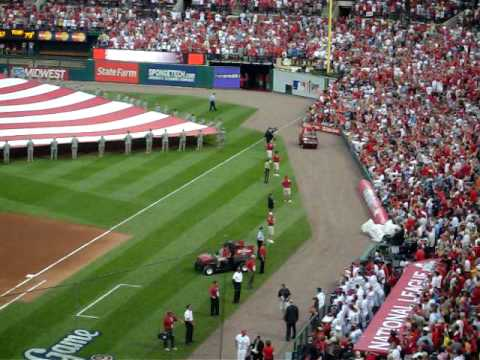 Stan Musial introduced at 2009 All Star Game