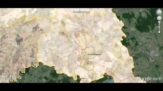 Cadastral maps on Google Earth