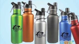 Custom Promotional Metal Water Bottles Printed w/Logo