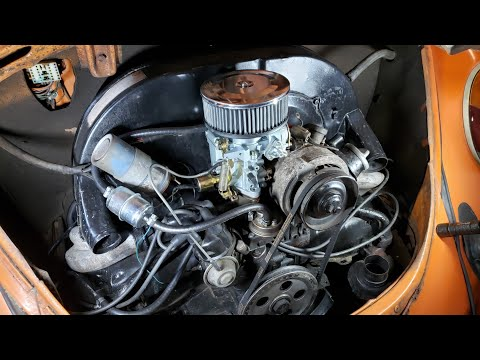 New Chinese VW Bug carburetor unboxing + install