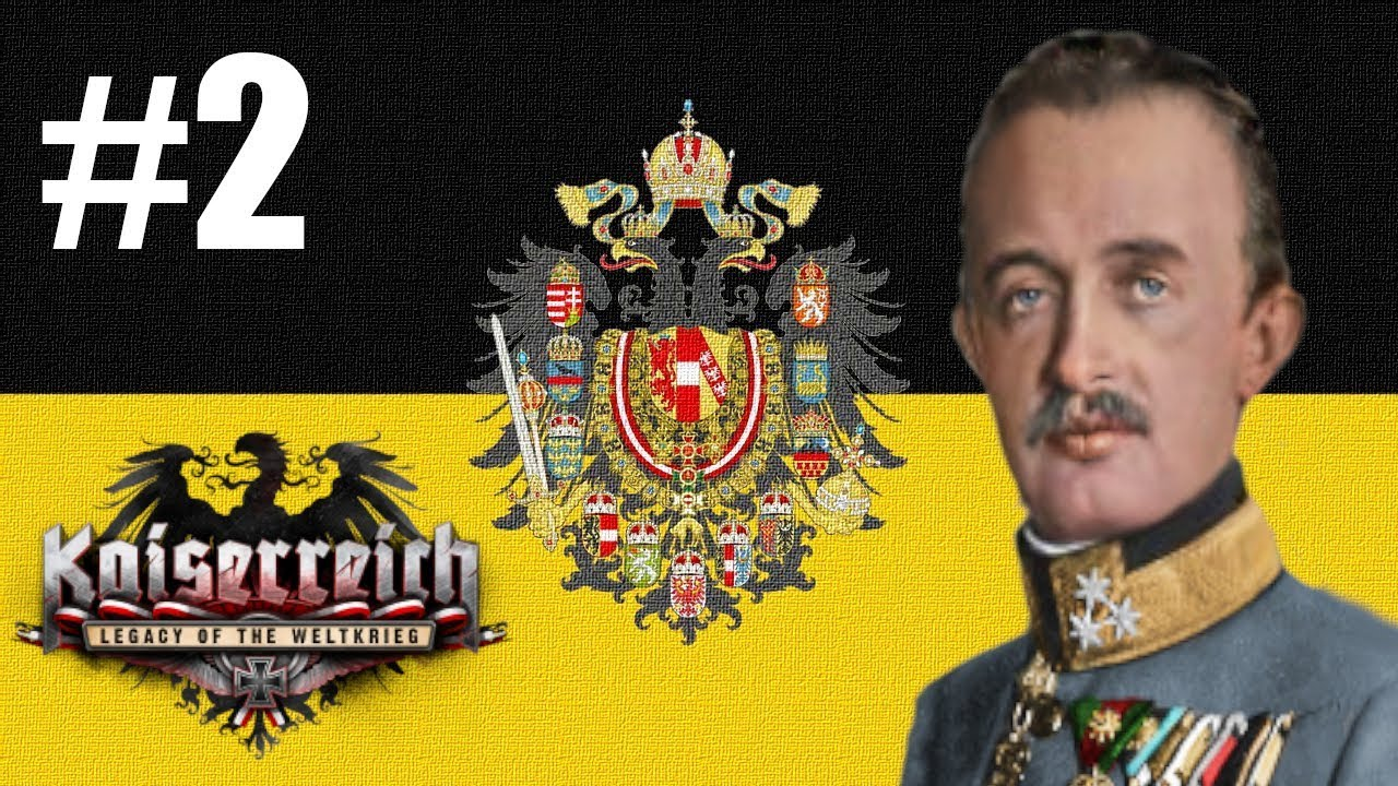 Kaiserreich Austria #2 Military occupation - HOI4