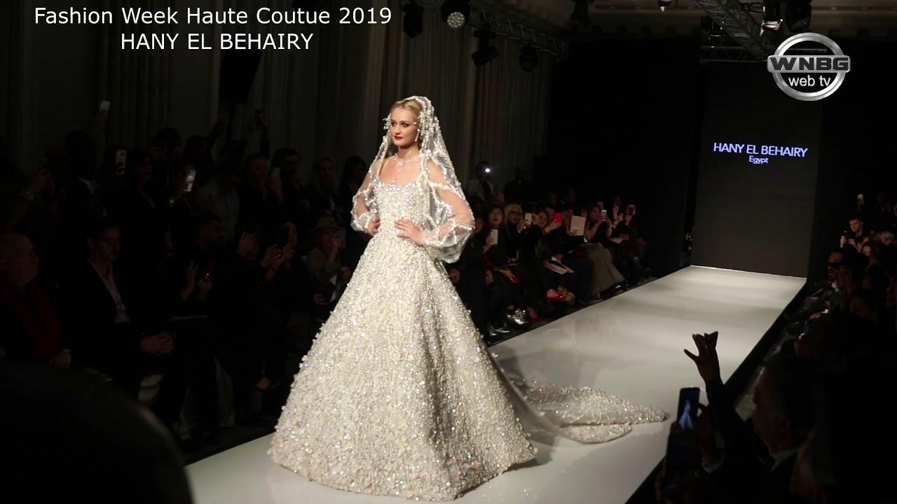 2018dafdfa724 Fashion Week de Paris 2019 Hany EL Behairy - YouTube