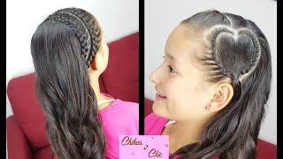 Diadema Corazon de Lado - Heart Headband | Para San Valentin | Chikas Chic