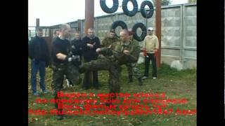ножевой и рукопашный бой - работа ногами