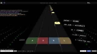 Roblox Rhythm Track I can't fix you EXPERT