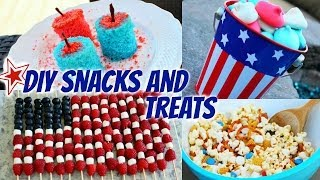 DIY Fourth of July Snacks & Treats! Thumbnail