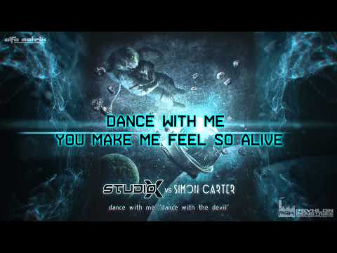 Studio-X vs. Simon Carter - Dance With Me 'Dance With The Devil' (official Lyrics Video) Mp3