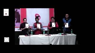 The moment of Inauguration of author Nilotpal Roy's novel 'Pastiche of Angst'