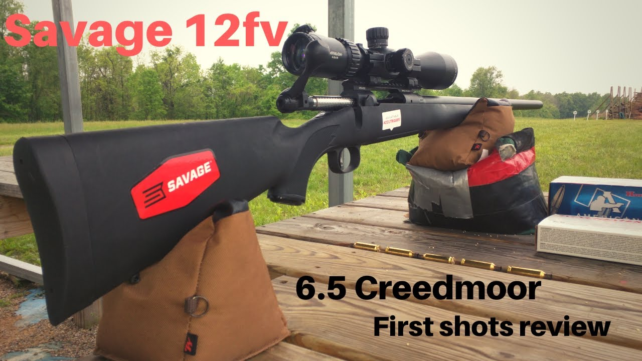 Savage 12fv Cabela's Exclusive 6 5 Creedmoor Review after First Shots
