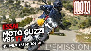 Moto Guzzi V85 TT - La belle italienne - Essai Moto Magazine