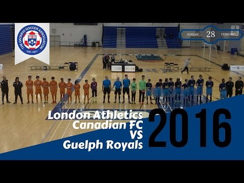 Ontario Futsal Cup 2016 - U14 Boys Final  - LACFC vs Guelph Royals 02/28/16
