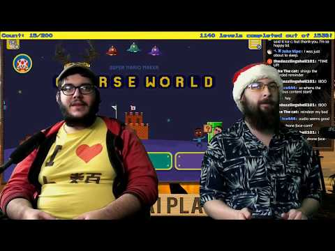 Super Mario Maker: Silent Night, Holy Night, All is Calm, All is Level - Karibukai LIVE