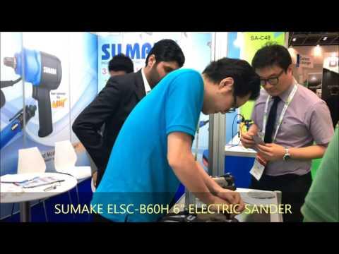 ELectric Sander in 2017 Dubai fair