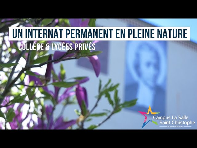 Un internat permanent en pleine nature