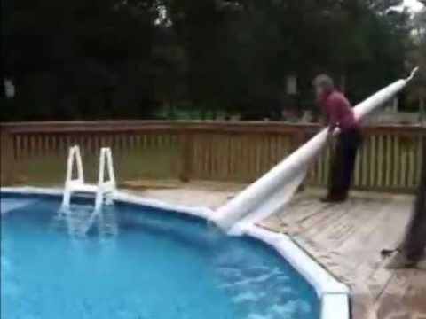 Solar Roller 174 For Aboveground Pools Youtube
