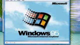 How to use Windows 95 in Virtual PC. VHD included!