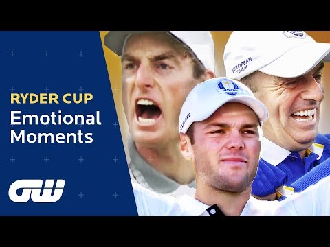 Ryder Cup Emotional Moments | Seve Ballesteros, Darren Clarke, Olazábal, Jim Furyk | Golfing World