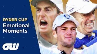 Ryder Cup Emotional Moments | Seve Ballesteros, Darren Clarke, Olazábal, Jim Furyk | Golfing World