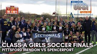 HSSB - Class A Section V Girls Soccer Finals - Spencerport vs Mendon - Nov. 16, 2019