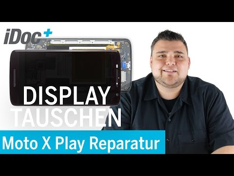 Motorola Moto X Play - Display tauschen / screen repair