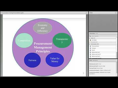Admin training Session 1