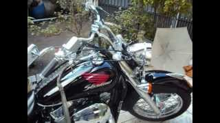 MOTOCICLETA HONDA SHADOW 750 EM 01- 052-0012.wmv