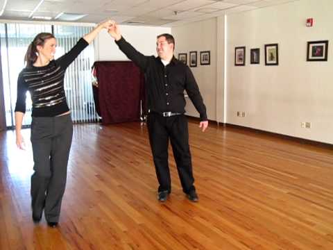 Jeanine and Eddie's sweet first dance rehearsal to...