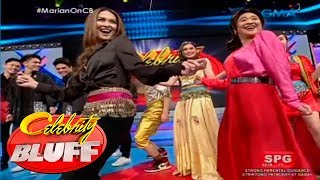 Celebrity Bluff: Marian Rivera's sizzling belly dancing routine