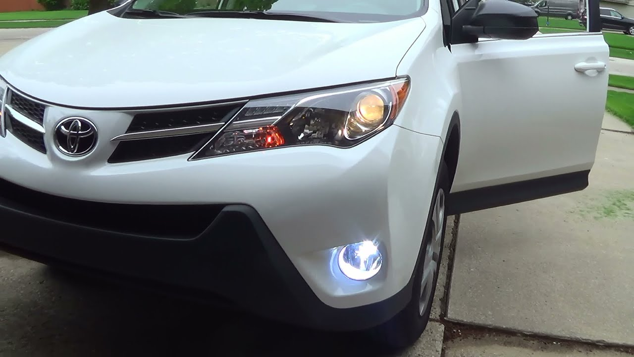 Toyota Rav4 Taillight Wire Diagram 34 Wiring Images Trailer Hitch 2015 Le Fog Light Installation Youtube