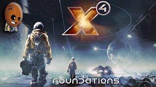 X4  Foundations 20➤Объявление войны Хатикве уничтожение их как нации. Абордаж шахтера L класса.