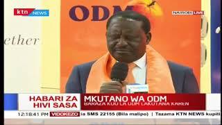 Raila Odinga ahutubia baraza kuu la chama cha ODM, asisitiza kwa vita dhidi ya ufisadi