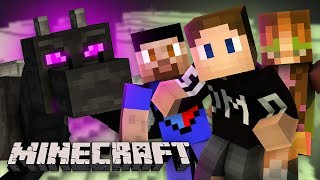 WE CHALLENGE THE ENDER DRAGON IN MINECRAFT (The End)