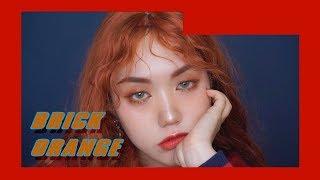 빈티지 브릭 오렌지 메이크업 ( W.히피펌 ) Vintage Brick Orange makeup
