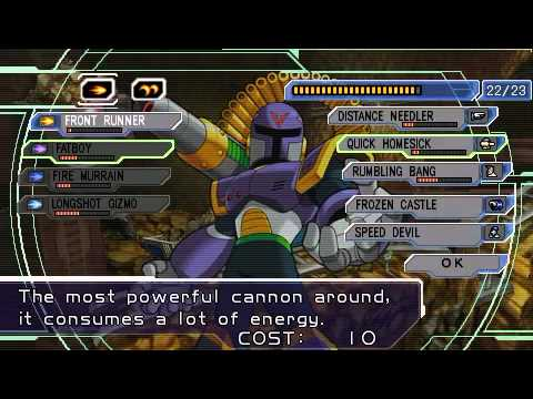 PSP Longplay [008] Mega Man: Maverick Hunter X (Part 2 of 2)