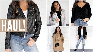 HAUL! FALL FASHION TRY-ON! MUST HAVE CLOTHING, SHOES, AND ACCESSORIES!
