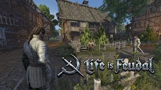 Life is Feudal MMO Beta - Building Armitage - Gameplay EP#2