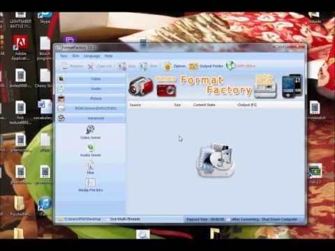 Format Factory Rundown: Converting Video To Audio