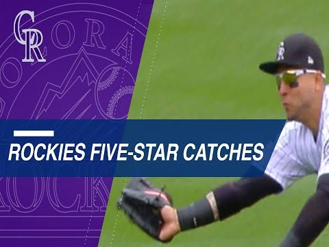 Statcast measures the Rockies' five-star catches