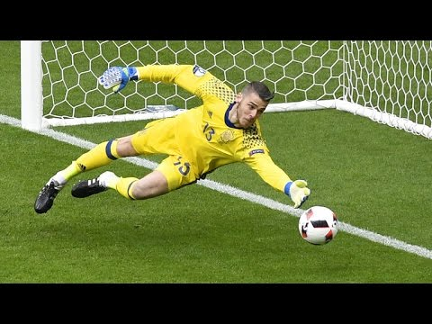 Best Goalkeeper Saves ● Euro 2016