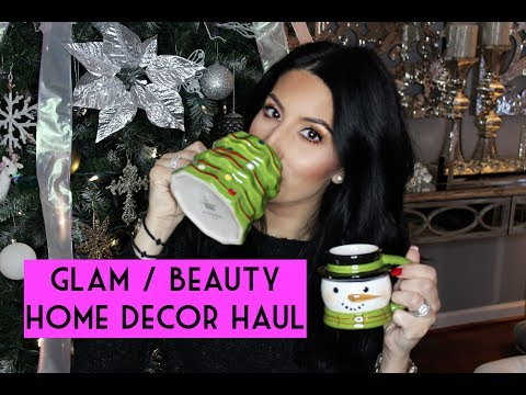 GLAM || BEAUTY || HOME DECOR HAUL - WINTER EDITION