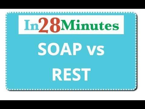 REST API - SOAP VS REST