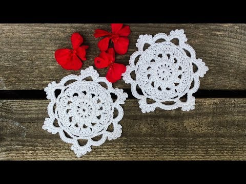 Crochet Lace Coaster