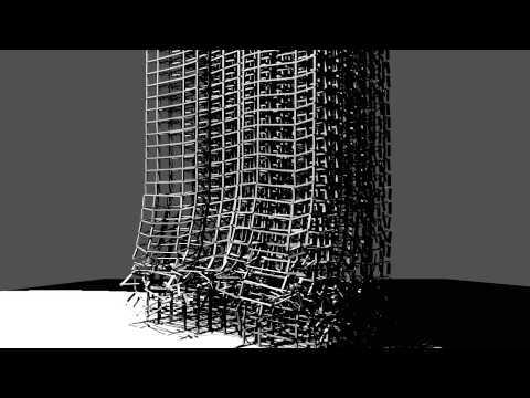 Blender 40 floors of Empire State Building Collapse 8300