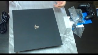 UNBOXING: PLAYSTATION 4 PRO