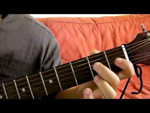 E Minor 7 (Em7) Guitar Chord Demonstration