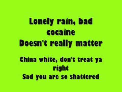The Runaways - Wasted lyrics on screen